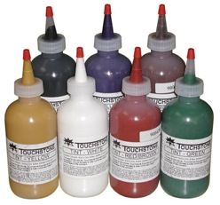 Touchstone Colorants, 8 oz. Bottles