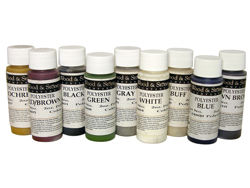 Wood & Stone Colorants for Polyester Adhesives, 8oz.