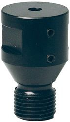 ADAPTOR,1/2 GAS(M) THREAD  TO 1/4(F) SHAFT COLLET