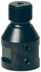 91-200-0057,ADAPTOR,1/2 GAS(M) THREAD TO 3/8(F) SHAFT COLLET