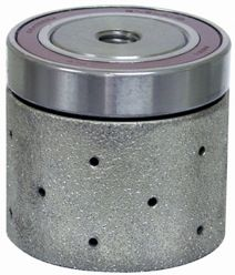 "Diarex Vacuum Brazed Drum With Bearing 2"" x 2"" 100G 5/8-11"