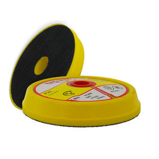 "FOAM RUBBER BACKUP HEAD, 4"", QRS, 5/8""-11 FEMALE THREAD"