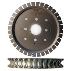 ADI Inline Profile Wheel 3cm Full Bull 250 R=16 50 4+4