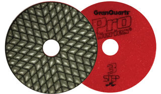 "4"" Pro Series 3-Step Dry Polishing Pads"