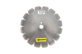 """Milling Blade 12"""" Diameter Segmented 30mm Bore 902-200-0643"""
