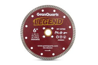"""Legend Premium Turbo Blade 6"""" 7/8""""-20mm-5/8"""" Arbor 4 Hole"""