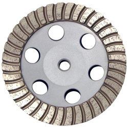 "Pro Series Aluminum Cup Wheel 6"", Coarse, 5/8""-11"