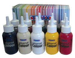 Tenax Universal Color For Polyester and Epoxy, Yellow, 2.5 oz