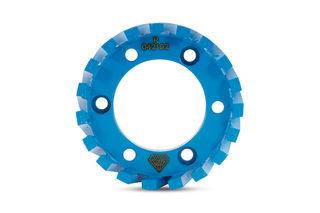 ADI Stubbing Wheel, 50mm Arbor, 91x30x7, Medium to Hard Bond, Blue