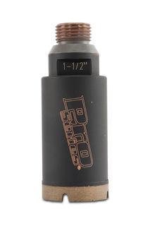 "Pro Series Thin Wall CNC Core Bit 1 1/2"" Diameter 1/2"" Gas"