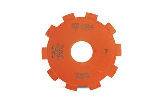 ADI Ninja Precut Blade #7 130mm Diameter, 35mm Bore
