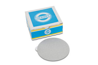 """Hermes PSA Silicon Carbide Sanding Discs 5"""" 400 Grit"""