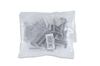 """T-31 Anchors with Nuts and Washers, 1/4"""" x 1-1/4"""", Pack of 25"""