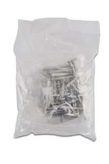 """T-31 Anchors with Nuts and Washers, 1/4"""" x 2"""", Pack of 25"""