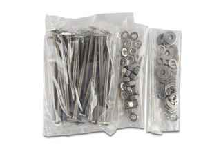 """T-31 Anchors with Nuts and Washers, 1/4"""" x 4"""", Pack of 25"""