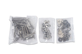 """T-31 Anchors with Nuts and Washers, 3/8"""" x 2-1/2"""", Pack of 25"""