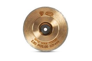 ADI UHS Router Bit Form E, 2cm Position 00, UHS Bit Metal with Toucher