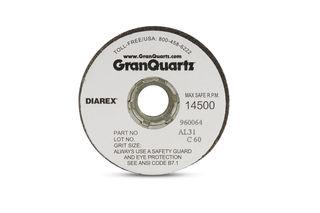 "Diarex Grinding Wheel, Silicon Carbide, 2.5""x2"", 60 Grit, 5/8""-11F"