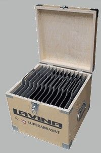 "LAVINA TOOL BOX FOR GRINDING & POLISHING TOOLS 15X15X12.5"""
