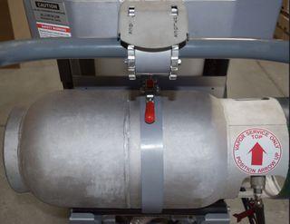 Lavina Empty Aluminum Horizontal Propane Tank For L38GR,L32G-X W2508
