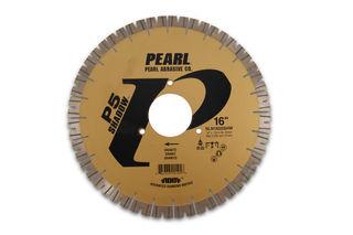 """Pearl P5 Shadow Bridge Saw Blade 16"""" 25mm Segments 90mm Arbor"""