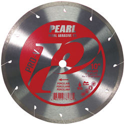 "Pearl P2 Pro V Porcelain Blade 10"" Diameter 5/8"" Arbor"