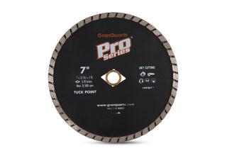 """Pro Series Turbo Tuck Point 7"""" x 3/16"""" 5/8""""-DKO-7/8"""""""