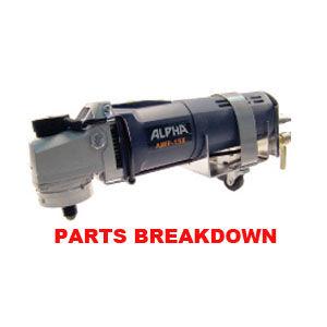 Alpha AWP-158 Parts