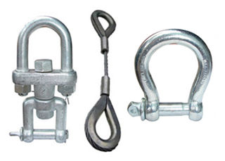 Abaco Swivel, Bow Shackles & Wire Sling