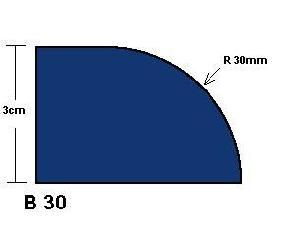 B30 Demi Bullnose Router Bit