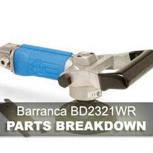 Barranca Air Polisher BD-2321WR Parts Breakdown
