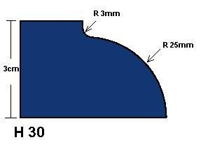 H30 Dupont Edge Router Bit