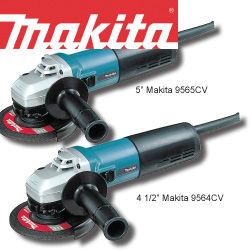 Makita Variable Speed Angle Grinders
