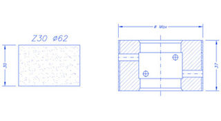 MEM Z30 Extra High Speed (EHS) CNC Wheels