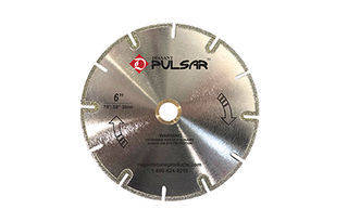 Pulsar Electroplated Marble Blades