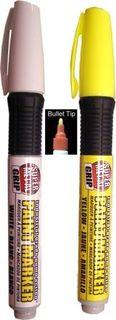 Pump Action Fiber Bullet Tip Paint Markers
