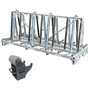 Weha Shorty Double Sided A Frame Transport Cart