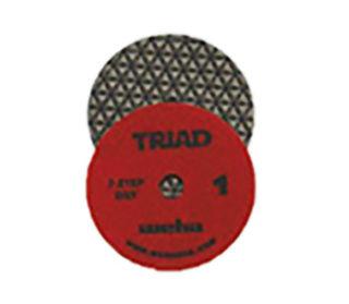 "Weha 3-Step Triad Dry Polishing Pads 4"""