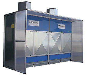 Weha Filter Project Dry Dust Collection Booths