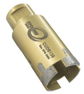 "Cyclone Ultra Porcelain Core Bit 1 1/2"" Diameter 5/8""-11"
