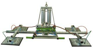 Manzelli Vacuum Lifter 1000Kg Xential 4 Plate Air Power Tilt