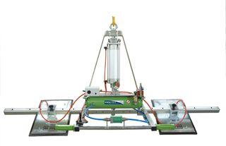 Manzelli Vacuum Lifter 500Kg Xential 2 Plate Air Power Tilt