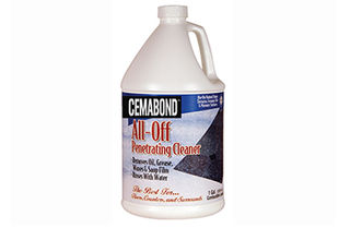 Cemabond All-Off Penetrating Cleaner, Gallon
