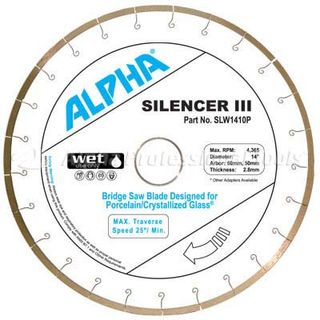 Alpha Silencer III Porcelain/Crystallized Glass