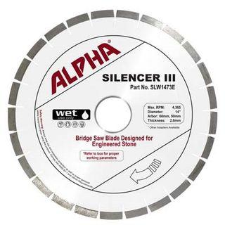 Alpha Silencer III Engineered Stone Blade