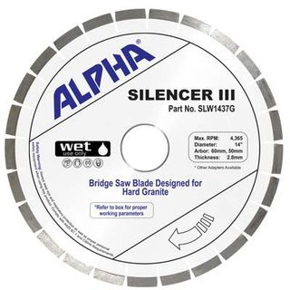 Alpha Silencer III Granite Blades