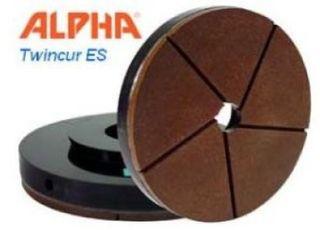 "Alpha Twincur ES 6"" 3000 Grit Snail Lock"