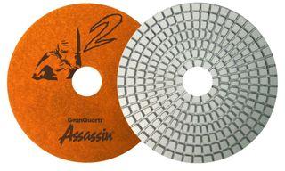 Assassin White Resin Polishing Pads
