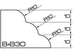 ADI Magic 120 Series Profile Wheels B+B30 35mm Bore Position 5