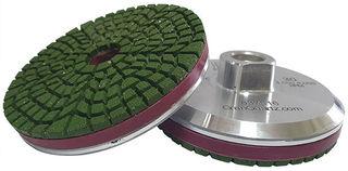 "Black Magic Flexible Resin Cup Wheel 4"" Aluminum 30 Grit"